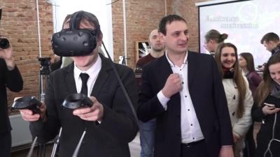 Embedded thumbnail for УTech StartUp School Львівської політехніки відкрили лабораторію віртуальної тадоданої реальності 28лютого 2018 року