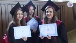 Embedded thumbnail for Урочистості з нагоди вручення дипломів випускникам магістерських програм ІППО